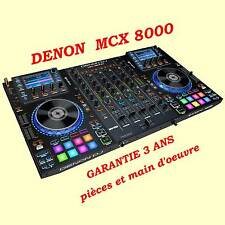 Denon MCX 8000 contrôleur numérique avec ou sans PC/Mac - NEUF - GARANTIE 3 ANS