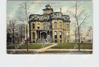PPC POSTCARD NEW JERSEY ELIZABETH BATTIN HIGH SCHOOL EXTERIOR STREET VIEW