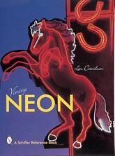 VINTAGE NEON - NEW HARDCOVER BOOK