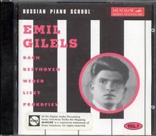 BACH / BEETHOVEN / WEBER / LISZT / PROKOFIEV - Emil GILELS - Melodiya