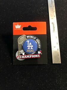 Los Angeles Dodgers 2020 World Series Trophy Pin - MLB Licensed