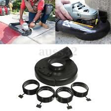 """18cm/7"""" Black Vacuum Dust Shroud Cover for Angle Grinder Hand Grind Convertible"""
