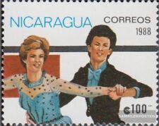 Nicaragua 2850 (complète edition) neuf avec gomme originale 1988 Jeux Olympiques