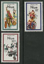 Niue  1974   Scott #   171-173     Mint Never Hinged Set