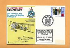 ROYAL AIR FORCE NO 2 SQUADRON 60th ANNIV FORMATION 1972  FLOWN IN SUPERSONIC