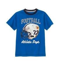 NWT BOY GYMBOREE HUDDLE UP BLUE FOOTBALL HELMET TEE T-SHIRT SHIRT TOP TEE 4 4T N