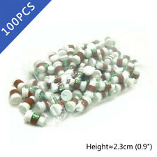 100Pcs Dollhouse New To Go Coffee Cups 1:6 Scale Model Miniature Accessories