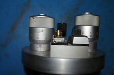 A piece of electron microscope with (2) Starrett 468M heads and more