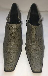 Casadei Pumps US 9 EU 39.5 Green Authentic ITALY Shoes