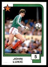 Panini Soccer Cards 1988 - John Lukic # 5