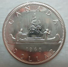 1965 CANADA VOYAGEUR SILVER DOLLAR PROOF-LIKE COIN