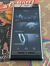 Genuine Vertu Aster Black Calf Extremely RARE Unlocked GSM Luxury Global phone