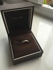 Ernest Jones 9 Carat White Gold Fine Diamond Rings