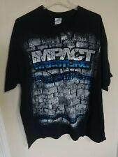 EUC Vintage TNA Impact Wrestling Men 2XL T-Shirt Free Ship