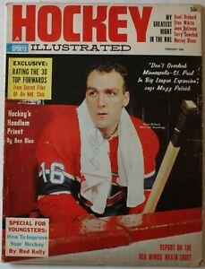 Bobby Hull Fleming Balfour Chicago Blackhawks Signed Feb 1964 Hockey Illustrated
