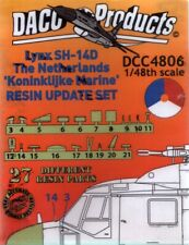 NEW DACO Products DCC 4806 1:48 Klu Koninklijke Westland Lynx SH-14D update set