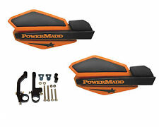 Powermadd Star Series Handguards Guards Orange / Black Snowmobile Ski Doo Summit