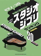 Studio Ghibli  Ranking 30 Piano Solo Sheet Music Book
