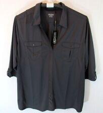 OGIO Polyester Work Shirt Gray Mens Size 4XL XXXXL NWT