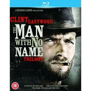 THE MAN WITH NO NAME Trilogy 1 2 3 (Region B) Blu-ray 1-3 Clint Eastwood