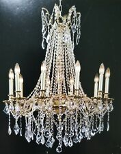 Palace Royal 10 Light  French Gold Crystal Chandelier Light 30x35