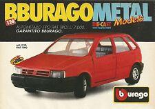X1208 BBURAGO - FIAT Tipo - Pubblicità 1990 - Advertising