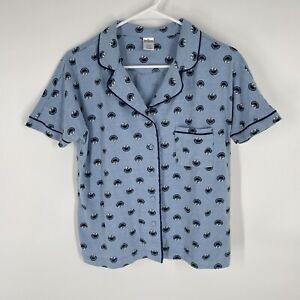Sesame Street Cookie Monster All Over Print Sleep Shirt Women's Size M