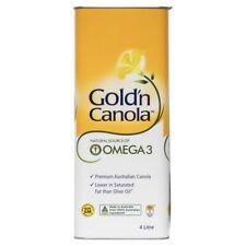 Gold'n Canola Oil - 4l