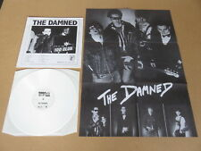 THE DAMNED Live At The 100 Club 1976 RARE LOW NUMBERED WHITE VINYL LP & POSTER