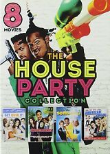 8 MOVIE HOUSE PARTY COLLECTION DVD 2 DISCS  ASHTON KUTCHER DAVID SPADE WAYANS R1