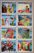SWORD OF ALI BABA ORIGINAL 1965 SET OF 8LC's 11X14 PETER MANN NM
