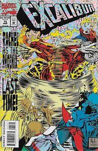 Excalibur No.75 / 1994 Special Holo Foil Cover / Scott Lobdell & Ken Lashley