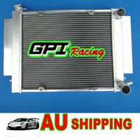 Aluminium radiator Mazda RX2 RX3 RX4 RX5  56mm 3 Core with  heater pipe