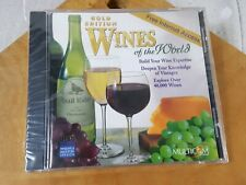 Wines of the World Gold Edition PC/ MAC CD-ROM 1997 New Sealed
