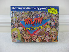 Vintage 1988 Truth or Consequences Game By Pressman~NOS~Factory Sealed