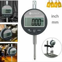 Digitale Messuhr 0.01/0.0005 Messtaster 0-25.4mm/1 Dial indicator Messgerät Neu