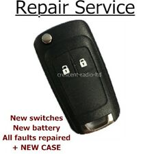 Repair Refurbishment Service for Vauxhall Opel Insignia Astra remote key fob Fix