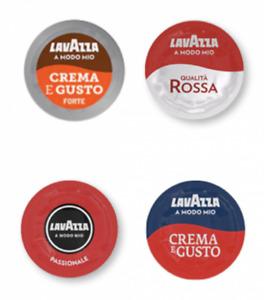 216 Kaffee kapseln Lavazza a modo mio MIXEN passionale qualita rossa crema gusto