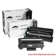 Moustache® TN760 DR730 Toner Cartridge & Drum Combo With Chip For Brother