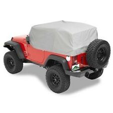 Pavement Ends Canopy Cab Cover 07-15 Jeep Wrangler JK 2 Door Charcoal
