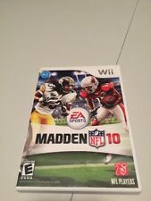 Madden Nfl 10 (Nintendo Wii, 2009) Free Shipping