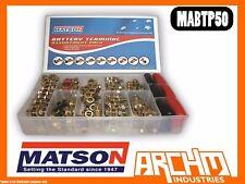 MATSON MABTP50 TERMINAL ASSORTMENT PACK OF 50 -  BATTERY HIGH QUALITY