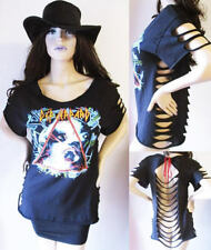 Def Leppard or Motley Crue Super sexy cut out Top S-XL Vintage look