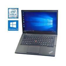 "COMPUTER NOTEBOOK LENOVO THINKPAD T440S i5 4300U 14"" WIN 10 RAM 4GB HDD 320GB."