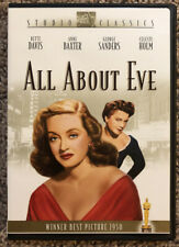 All About Eve (Dvd, 2003, Studio Classics) Bette Davis - In Excellent Condition!