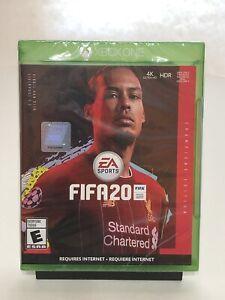 FIFA 20 Champions Edition Microsoft Xbox One Video Game - soccer futbol van Dijk