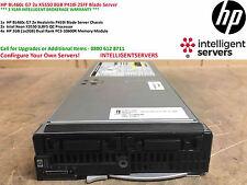 HP BL460c G7 2x X5550 8GB RAM P410i Blade Server 603718-B21