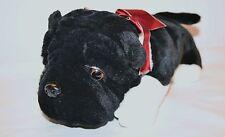 "Plush Walmart Pug Shar Pei Bull Puppy Dog ? Cute stuffed Animal 13"" Good Cond"