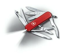 0.6386 VICTORINOX SWISS ARMY POCKET KNIFE MIDNITE MINICHAMP RED 53976 BRAND NEW