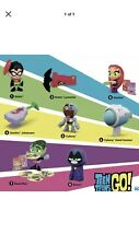TEEN TITANS GO Movie McDonald's Happy Meal Complete Set 8 Toys